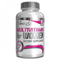 BioTechUSA Multivitamin for Women (60ct)