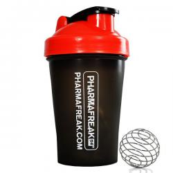 Pharmafreak Shaker Black / Red (400ml)