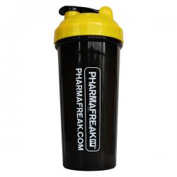 Pharmafreak Σέικερ Μαύρο / Κίτρινο (700ml)