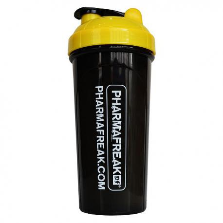 Pharmafreak Shaker Black / Yellow (700ml)