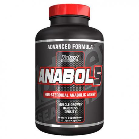Nutrex Anabol-5 (120ct) supplement facts