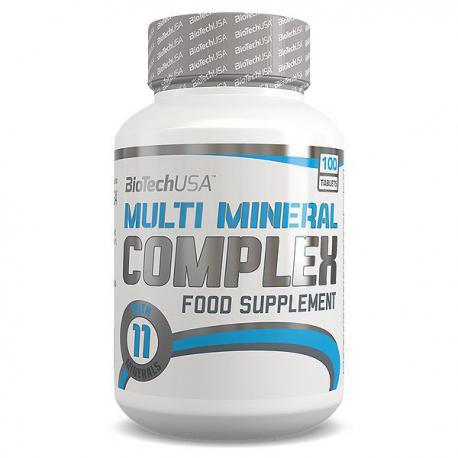 BioTechUSA Multi Mineral Complex (100ct)