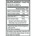 Cellucor NO3 Chrome (90ct) supplement facts