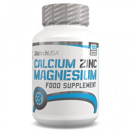 BiotechUSA Calcium Zinc Magnesium (100ct)