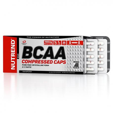 Nutrend BCAA Compressed (120ct)