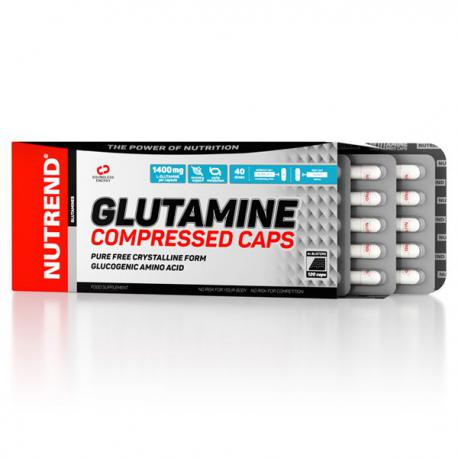 Nutrend Glutamine Compressed (120ct)