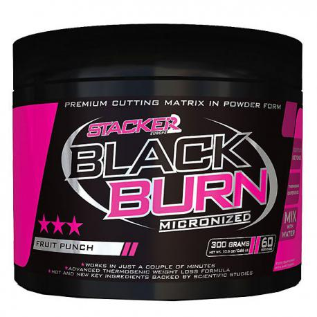 Stacker2 Black Burn Micronized (300g)