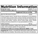Stacker2 Black Burn Micronized (300g) supplement facts