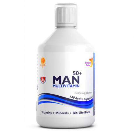 Swedish Nutra MAN Multivitamin (500ml)