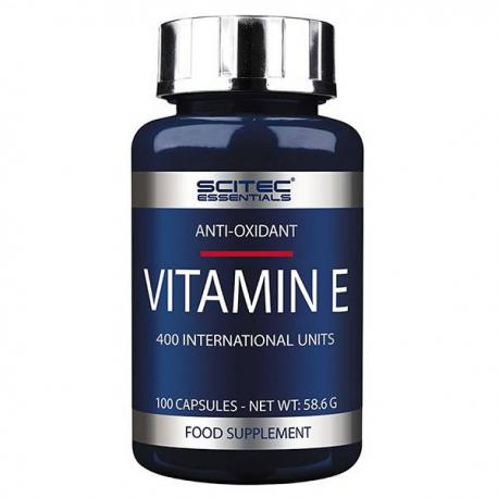 Scitec Essentials Vitamin E (100ct)