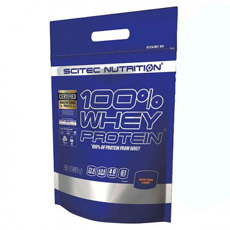 Scitec Nutrition 100% Whey Protein (1850g)