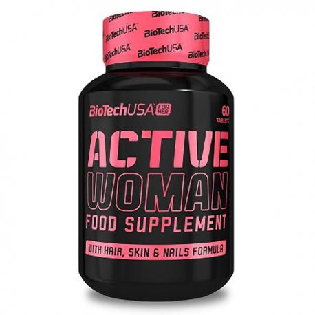 BiotechUSA Active Women (60ct)