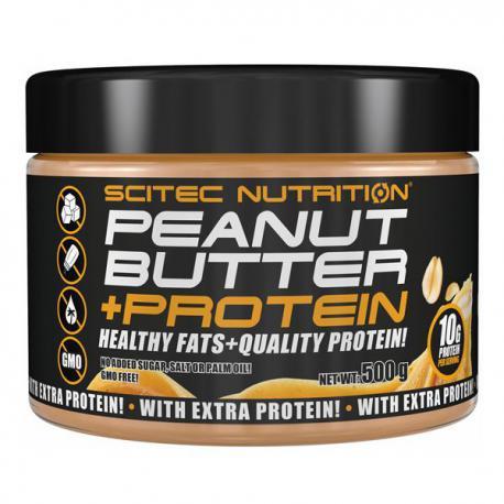 Scitec Nutrition Peanut Butter + Protein (500g)