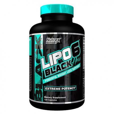 Nutrex Lipo-6 Black Hers (120ct)