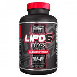 Nutrex Lipo-6 Black (120ct)