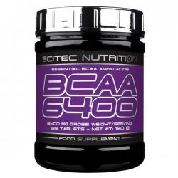 Scitec Nutrition BCAA 6400 (125ct)