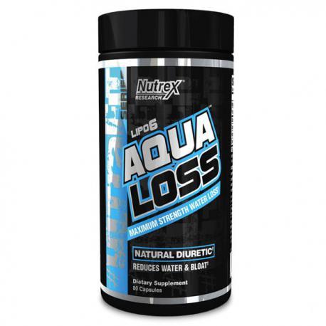 Nutrex Lipo-6 Aqua Loss (80ct)