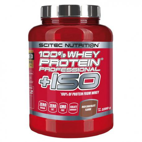 Scitec Nutrition 100% Whey Protein Professional + ISO (2280g)