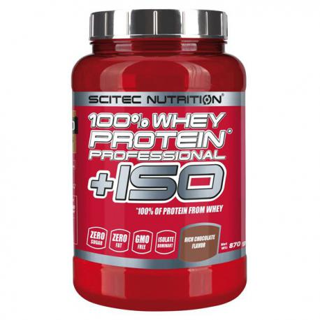 Scitec Nutrition 100% Whey Protein Professional + ISO (870g)