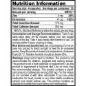 Galvanize Nutrition Chrome 33 Burn (100ct) διατροφικά στοιχεία