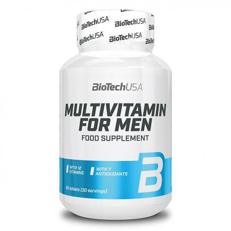 BioTechUSA Multivitamin for Men (60ct)