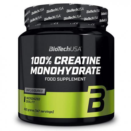BioTechUSA 100% Creatine Monohydrate (500g)