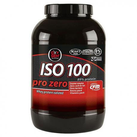 Oxygen Nutrition ISO 100 pro zero (2000g)