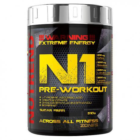 Nutrend N1 Pre-Workout (510g)