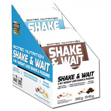 Scitec Nutrition Shake & Wait (10 x 55g)