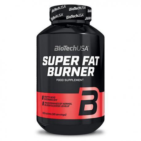 BioTechUSA Super Fat Burner (120ct)
