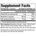 Universal ZMA Pro (90ct) supplement facts