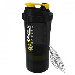 SpiderBottle 2Go black shaker