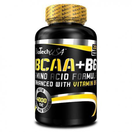 BioTechUSA BCAA + B6 (200ct)