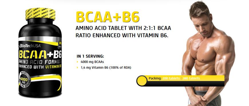 BioTechUSA BCAA + B6