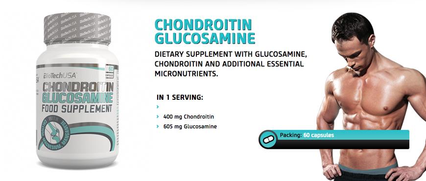 BioTechUSA Chondroitin Glucosamine