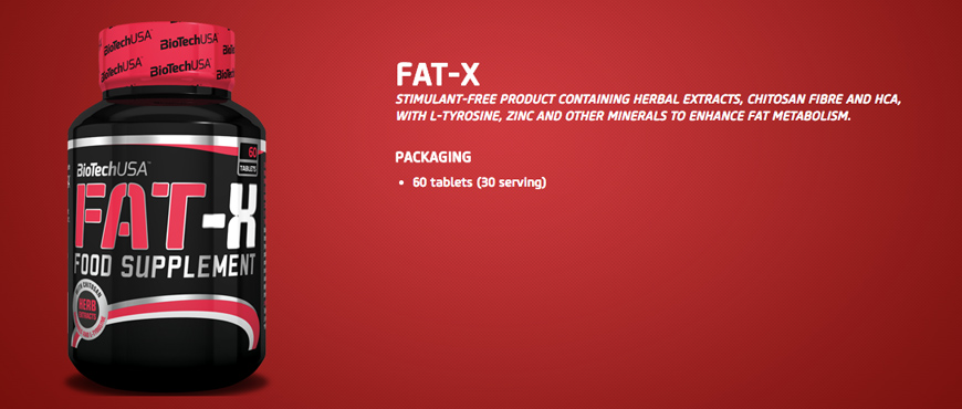 BioTechUSA Fat-X (60ct)