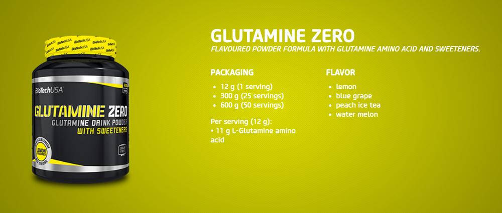 BioTechUSA Glutamine ZERO