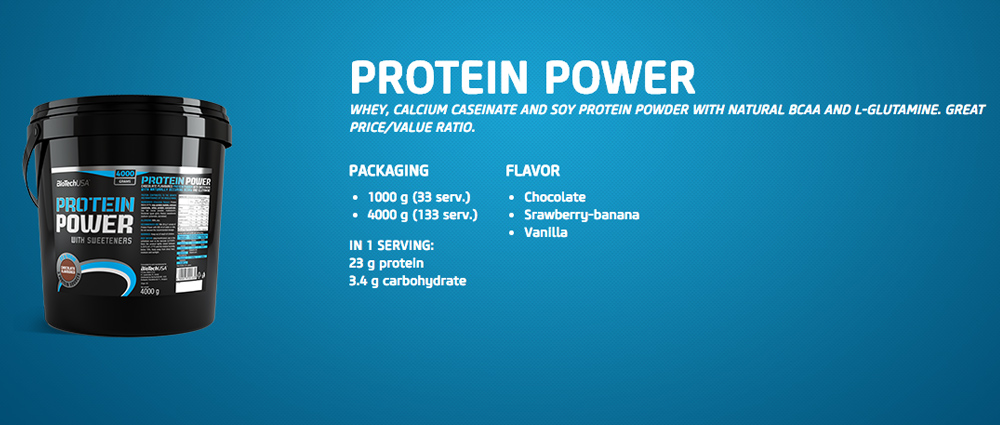BioTechUSA Protein Power