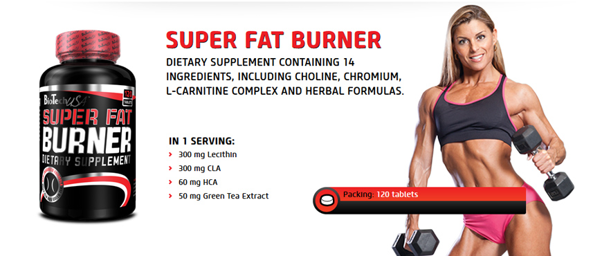 BioTechUSA Super Fat Burner