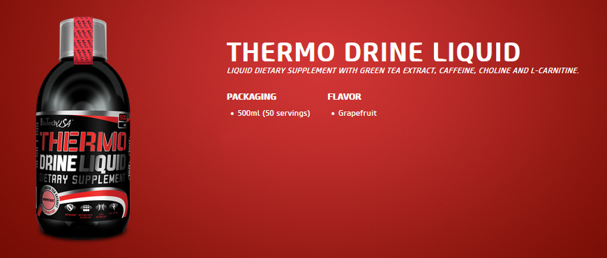 BioTechUSA Thermo Drine Liquid