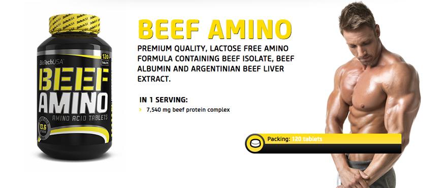 BioTechUSA Beef Amino