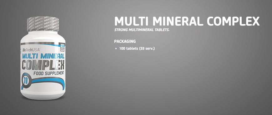 BioTechUSA Multi Mineral Complex