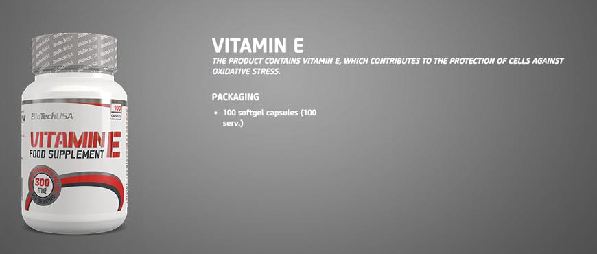 BioTechUSA Vitamin E