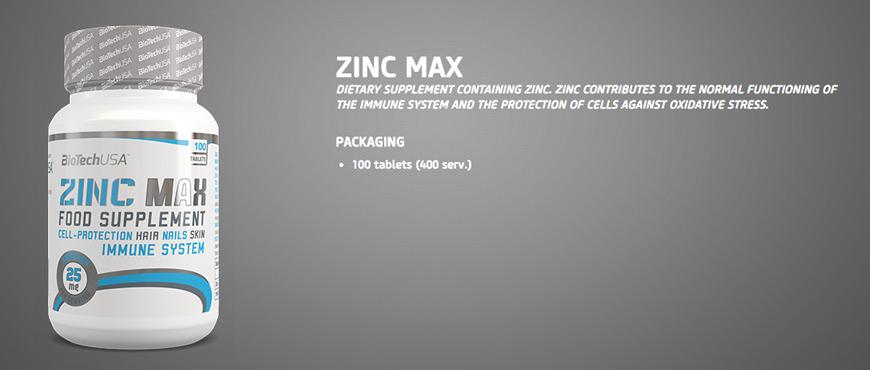 BiotechUSA Zinc Max