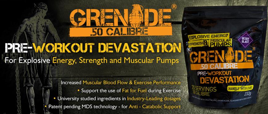 Grenade .50 Calibre Bag