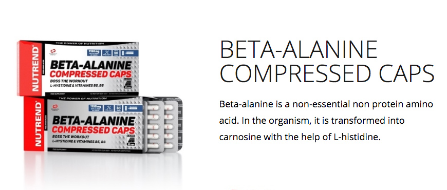 Nutrend Beta-Alanine Compressed