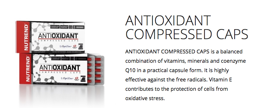 Nutrend AntiOxidant Compressed