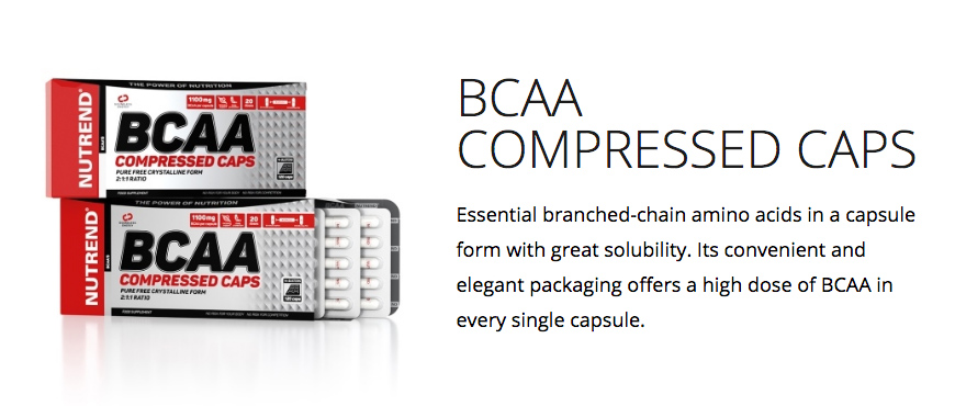 Nutrend BCAA Compressed