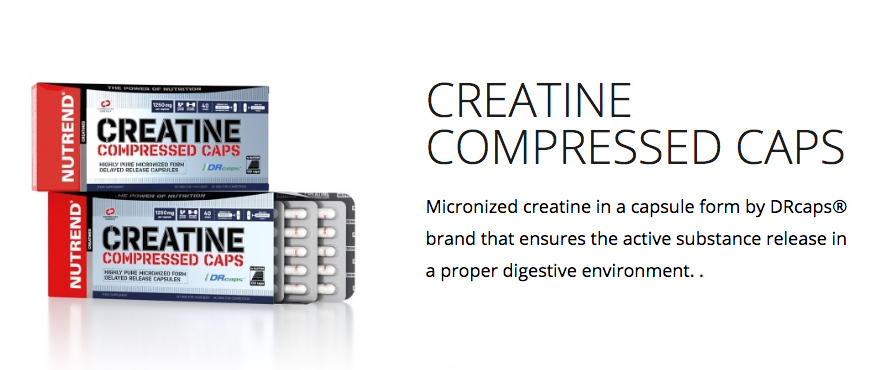 Nutrend Creatine Compressed