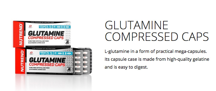 Nutrend Glutamine Compressed